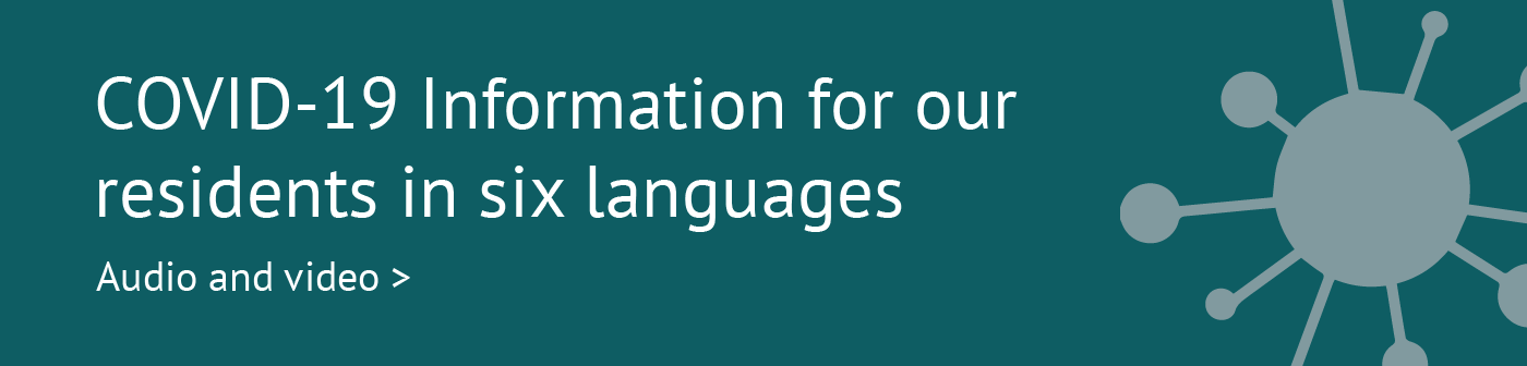 Guidance for tenants in six languages